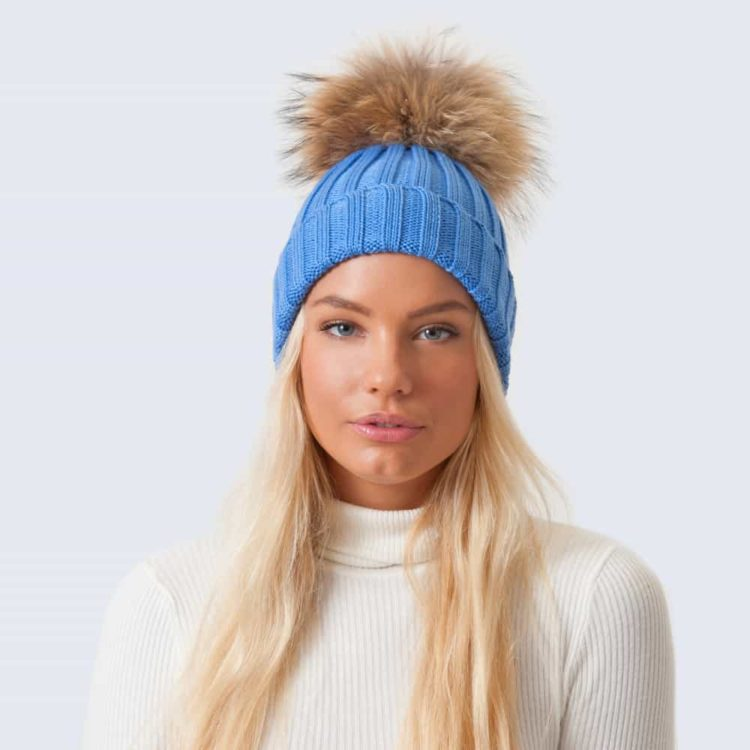 Marino_alice blue_Hat_real_Brown_model