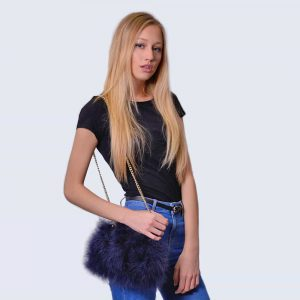 Feather Bag Navy