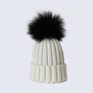 af58b8311f1 Fur Pom Pom Hats » Amelia Jane London