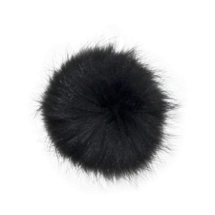 Black Spare Pom Pom