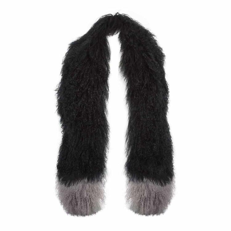 black-mongo-scarf-grey-tips