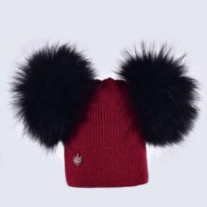 2bcf9a00df6 Double Fur Pom Pom Hats » Amelia Jane London